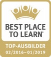 Best Place To Learn / Top-Ausbildung 02/2016 - 01/2019